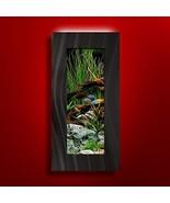 Aussie Aquariums 2.0 Wall Mounted Aquarium - Verticali (Brushed Black) - $207.81