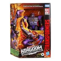 Transformers War For Cybertron Kingdom Scorponok Deluxe Class Action Figure - $60.00