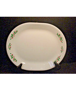 "Corelle by Corning WINTER HOLLY Platter Serving Plate 12"" Made in USA - $14.84"
