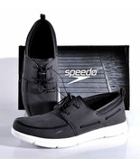 NEW Speedo Men's Port Water Shoe Black White Slip-On PICK SIZE - $268,34 MXN