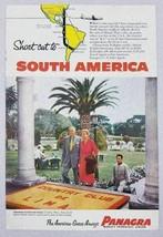 1954 Print Ad Pan American-Grace Airways Panagra Lima,Peru South America - $8.97