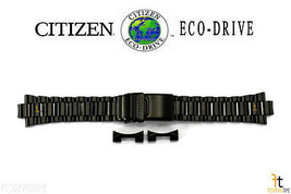 Citizen Eco-Drive CA0295-58E Black Ion Plated Stainless Steel Band BJ7005-59E - $188.95