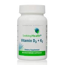 Vitamin D3 + K2   5000 IU of D3 as cholecalciferol for Optimal Calcium Absorptio