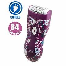 Emjoi e84 eRase Dual Opposed 84 Tweezer Head Epilator (Purple Floral) AP... - $43.56