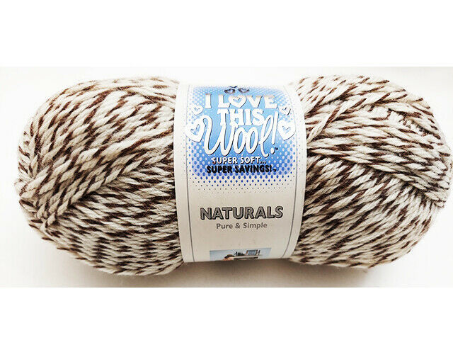I Love This Wool Natural Yarn in Toasted Almond #823302