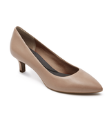 Womens Rockport Total Motion Kalila Pump - Taupe Leather Size 9.5 [V79018] - $64.99