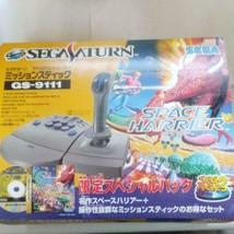 Sega Saturn Analógico Controlador Mission Adhesivo Exclusivo Especial Pack - $388.24