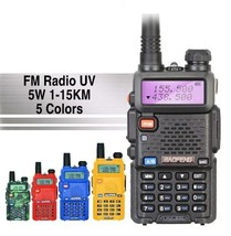 UV-5R Professional Walkie Talkie UHFVHF Portable Two Way CB Transceiver ... - £36.51 GBP