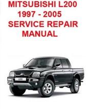 Workshop Service Repair Manual For Mitsubishi Triton L200 1997-2005 - $8.02