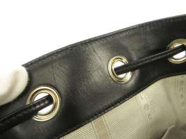 GUCCI Diamente Leather Black Shoulder Bag 354229 One shoulder Italy Authentic image 7