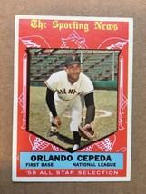 1959 Topps #553 Orlando Cepeda Baseball Card EX+ Condition Giants WB RF1 - $29.99