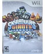 Skaylanders Giants- Nintendo Wii Games - $20.00