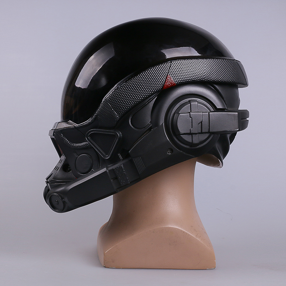 Mass Effect Andromeda Ryder N7 Cosplay Costume Helmet Mask