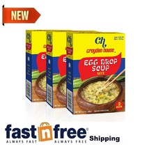 Croyden House Egg Drop Soup Mix 3.5oz (3 Pack, Total of 6 Envelopes) Qui... - $12.47