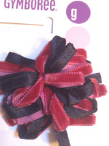 Gymboree Holiday Magic Line Hair Barrette Clips Snaps Black Red Christmas NWT Fa - $9.95