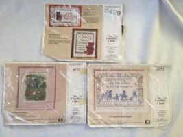 LOT (3) The Creative Circle #1677 1671 &  #2429  Cross Stitch NEW  - $23.35