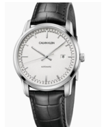 Calvin Klein CK Men's Infinite Too Automatic Leather Watch #K5S341CX - $599.95