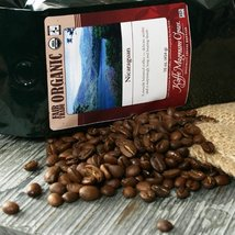 Organic Fair Trade Nicaraguan Whole Bean Coffee (1 pound) - $25.99