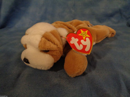 Ty Beanie Babies Wrinkles The Dog May 1, 1996 w/ Tags - $2.48