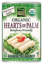 Native Forest Organic Hearts of Palm, 14 Ounce Cans Pack of 12
