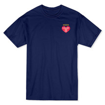 """Heart, Hope & Love"" Quote Angel Heart Chest Graphic Men's T-shirt - $17.81+"