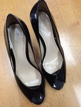 Ann Taylor Black Patent Leather Heels Size 8.5 - $9.90