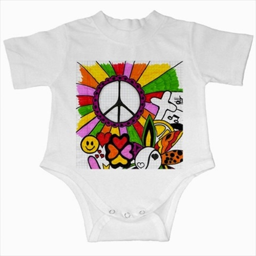 Primary image for Hippie infants baby creeper bodysuit romper onepiece newborn jumpsuit