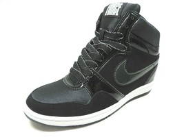 Nike Force Sky High 629746 002/001 Womens Sneakers Shoes  Leather Blck/W... - $79.99