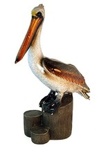"StealStreet YXE-758 12.5"" Pelican Standing on Log Ceramic Decorative Fig... - $51.31"