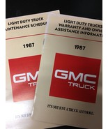 1987 GMC Truck Manuals - £7.33 GBP