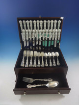 Strasbourg by Gorham Sterling Silver Dinner Flatware Set 12 Service 74 Pieces - $5,500.00