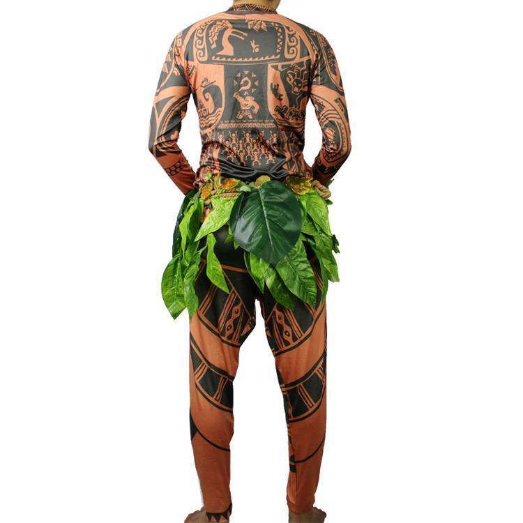 Erwachsene Herren Moana Maui Cosplay Kostüm and 16 similar items