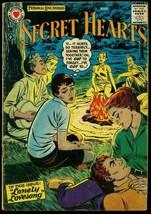 Secret Hearts #41 1957- DC Romance-  Campfire G/VG - $31.53