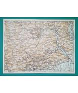 1931 BAEDEKER MAP - Italy VAL GRANDE BIELLA ORTA ALAGNA & Environs + Rai... - $8.64