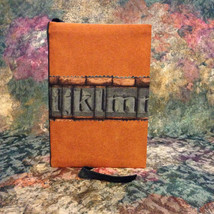 Small Decorative Journal Cover - Handmade Cloth Journal Cover  - $18.50
