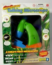 GeoSafari Talking Microscope Educational Insights Child Science Learning Toy New - $44.52