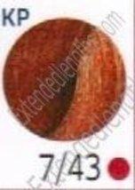 Wella Touch Multidimensional Demi-Permanent Hair Color, 7/43 Medium Blonde/Red G - $11.88