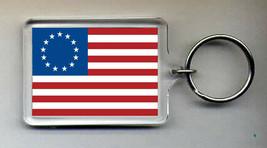 Betsy Ross Flag Keyring NEW - $5.95