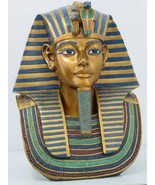 PTC 18.75 Inch Egyptian King TUT Head and Bust Resin Statue Figurine - $168.29