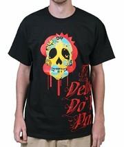 Raza Til Death Do US Teil Zuckerschädel Día De Muertos Tag der Toten T-Shirt