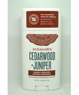 Schmidt's Natural Deodorant Cedarwood - Juniper 2.65 oz - $9.89