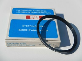 EVA 55-52mm Step-Down Lens Adapter Ring - $10.00