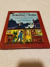 Vintage Kinder Buch - The Black Pearl & The Ghost 1980 Sehr Guter Zustand - $19.59