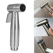 Xueqin 1pc Stainless Steel Hand Held Toilet Sprayer Bathroom Shower Head Washing - $22.95