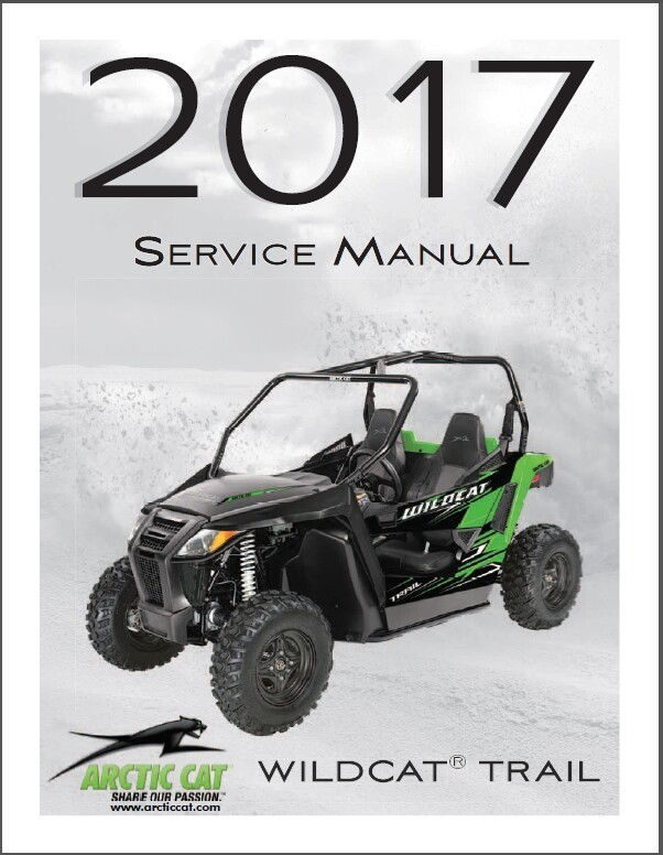 2017 arctic cat wildcat trail service repair and 50 similar items