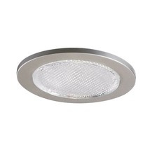 Halo 4 in. Satin Nickel Recessed Lighting Lensed Shower Trim (951SNS)  - $23.36