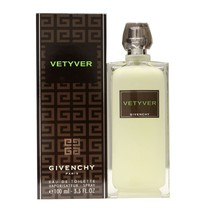GIVENCHY VETYVER EAU DE TOILETTE VAPORISATEUR SPRAY 100 ML/3.3 FL.OZ. NIB - $98.51