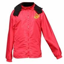 USMC Emblem Two-Tone Red/Black Fleece Lined Jacket - $64.85+