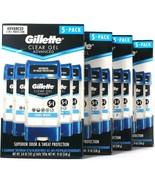 4 Gillette 19 Oz Advanced Cool Wave Clear Gel 5 Pack Antiperspirant Deod... - $79.99