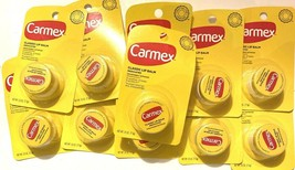 Pack of 11  Carmex Classic Lip Balm Med - 0.25 oz EXPIRATION 10/2020 - $15.25